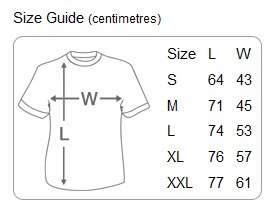 T-Shirt-size-guide