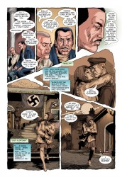 What comic is complete without a Nazi?