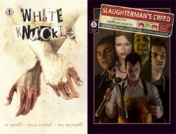 Cy Dethan Crime Collection: White Knuckle and Slaughterman's Creed