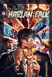 The Case Files of Harlan Falk. Cover A by Scott James