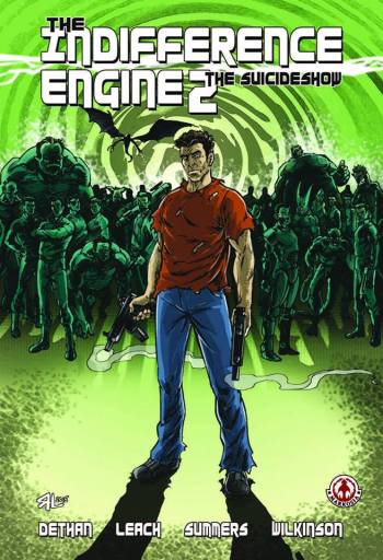 Indifference Engine 2 Cover By Russ Leach