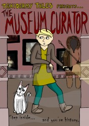 Cover for Gill Hatcher's 'The Museum Curator' story
