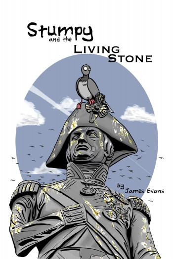 Stumpy and the Living Stone Cover