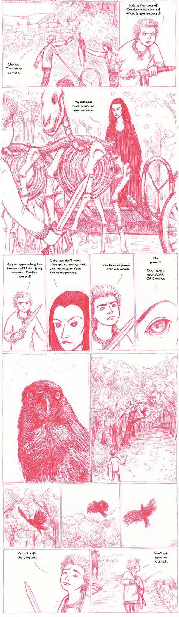 The Cattle Raid of Cooley issue 1 preview