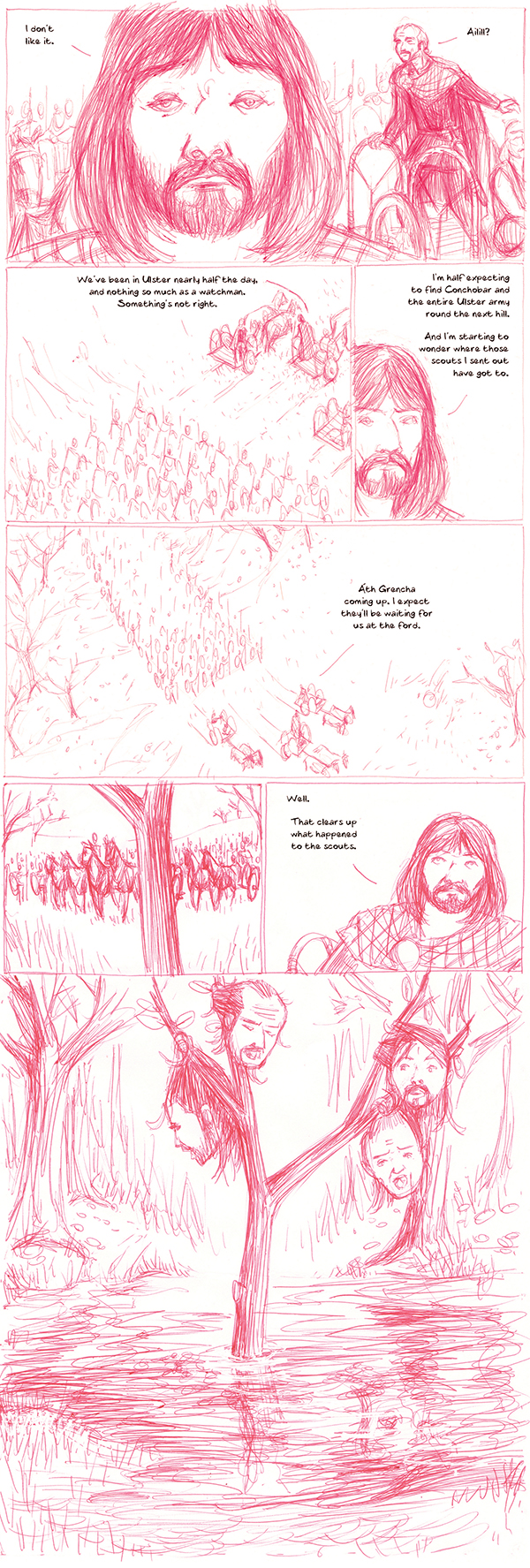 The Cattle Raid of Cooley issue 2 preview