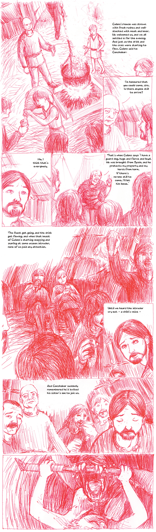 The Cattle Raid of Cooley issue 5 preview