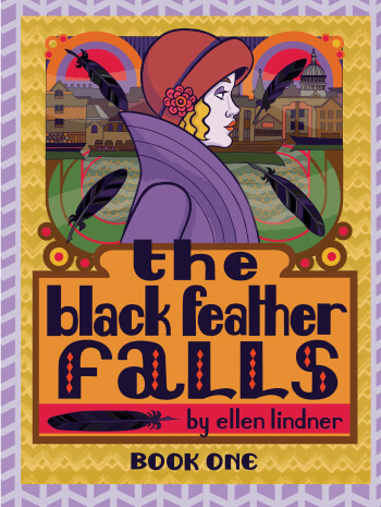 The Black Feather Falls Book One cover