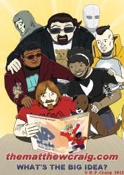 The Matthew Craig Dot Com - Characters (C) M.P.Craig 2012