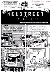 Newstreet vs. The Accelerati by Matthew Craig & Steve Roberts, page 1