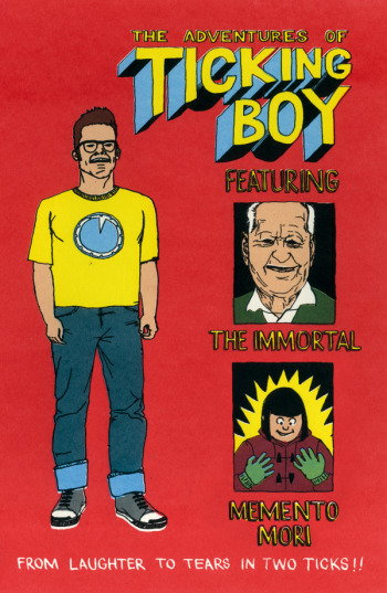 The Adventures of Ticking Boy (front cover)