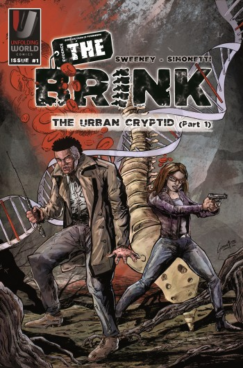 The Brink issues #1: The Urban Cryptid (pt 1) cover